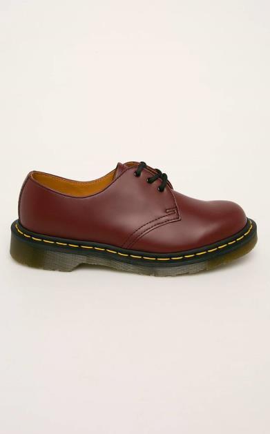 Burgundské boty dr. martens