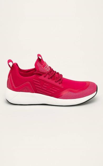 Růžové boty EA7 Emporio Armani