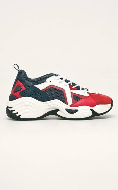 Bílé boty Emporio Armani