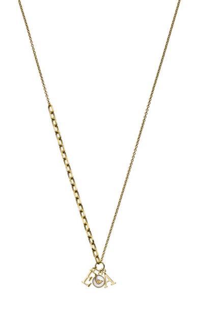 Zlatý náhrdelník Emporio Armani