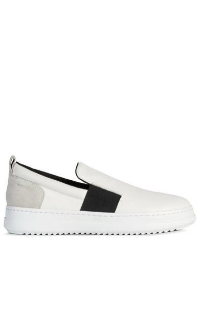 Bílé boty geox