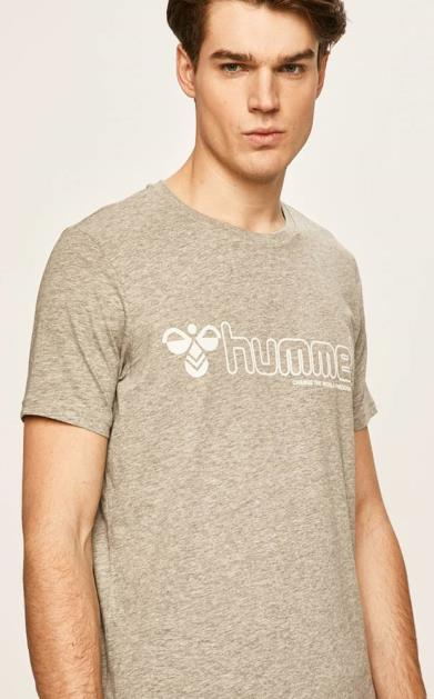Šedé tričko Hummel