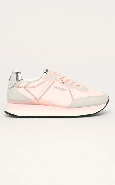 Růžové boty wrangler