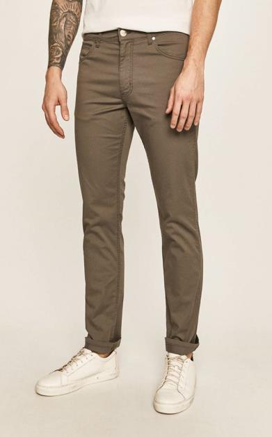 Šedé kalhoty wrangler