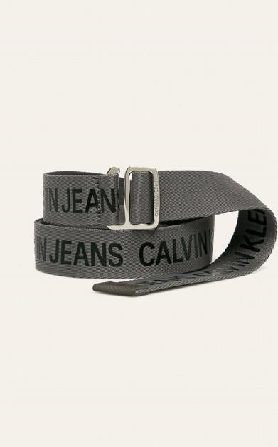 Šedý pásek calvin klein jeans