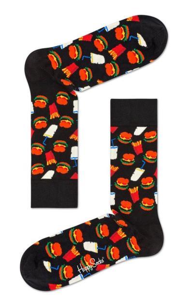 Černé spodní prádlo happy socks