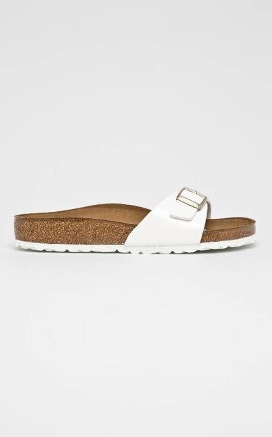 Bílé boty Birkenstock