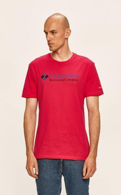 Růžové tričko columbia