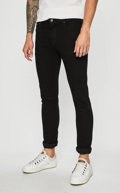 Černé kalhoty jack & jones