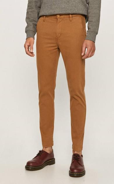 Hnědé kalhoty Levi's