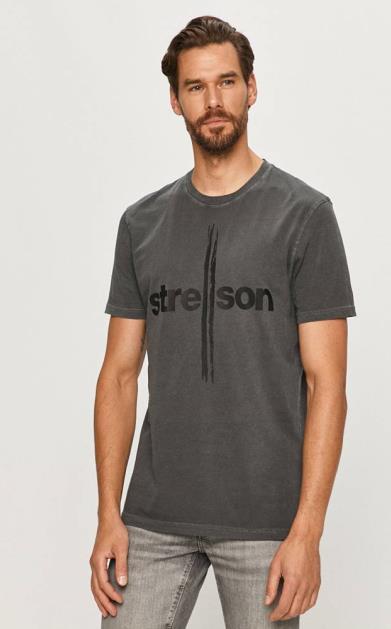 Šedé tričko Strellson