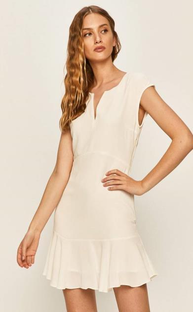 Bílé šaty pepe jeans