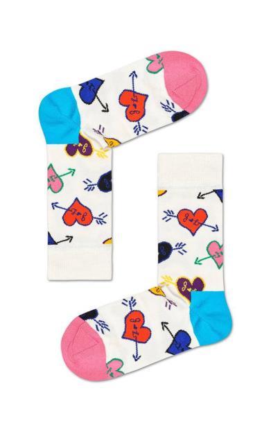 Bílé spodní prádlo happy socks