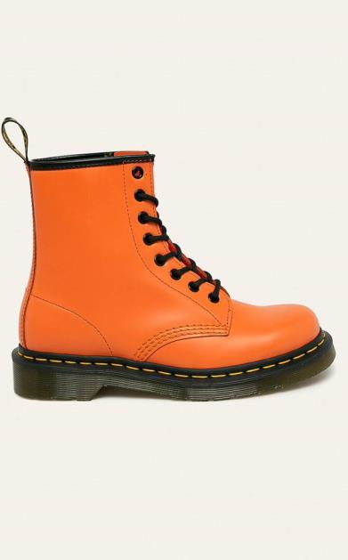 Oranžové boty dr. martens