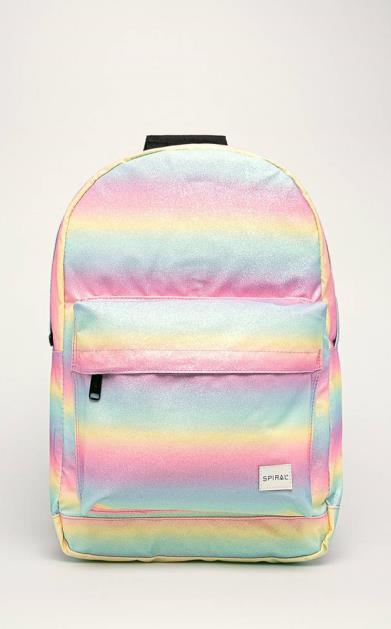 Vícebarevný batoh spiral