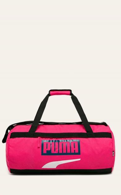 Růžový kufr puma