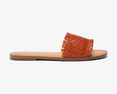 Oranžové pantofle aldo