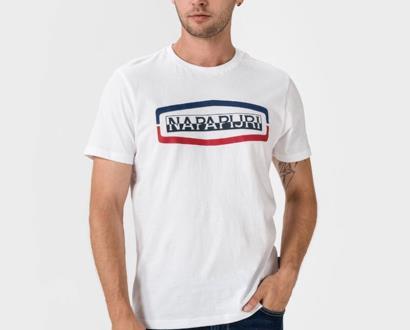 Bílé tričko Napapijri