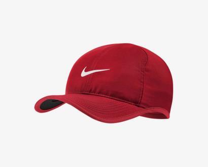 Červená čepice nike