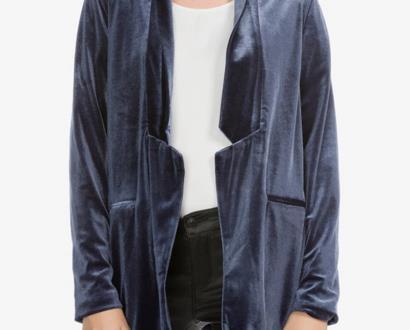 Modrá bunda vero moda