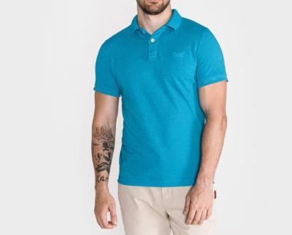 Modré tričko superdry