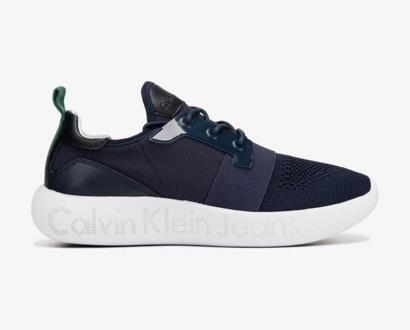 Modré tenisky Calvin Klein