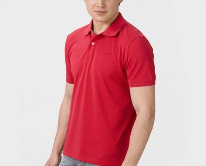 Červené tričko geox