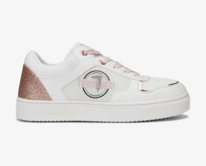 Bílé tenisky Trussardi Jeans