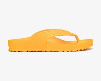 Oranžové pantofle Birkenstock