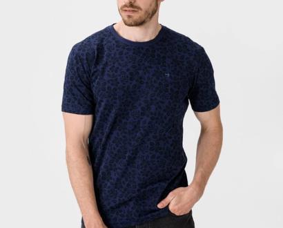 Modré tričko scotch & soda