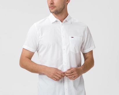 Bílá košile Tommy Jeans