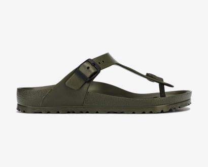 Zelené pantofle Birkenstock
