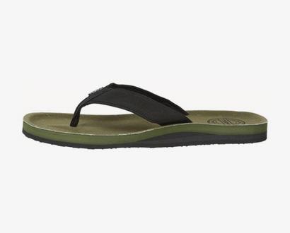 Zelené pantofle o'neill