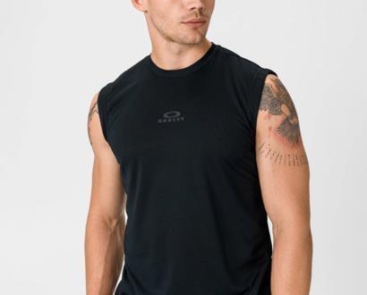 Černé tričko Oakley