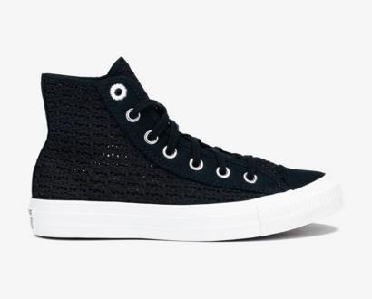 Černé tenisky converse