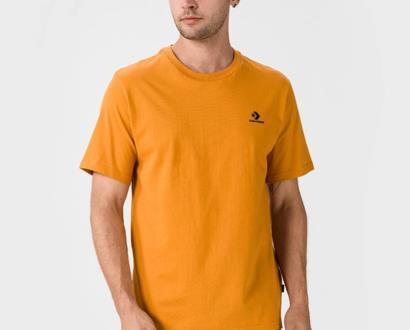 Oranžové tričko converse