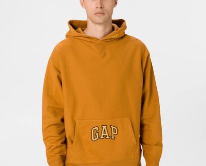 Oranžová mikina GAP