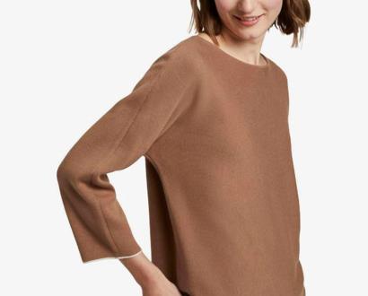 Hnědý svetr tom tailor