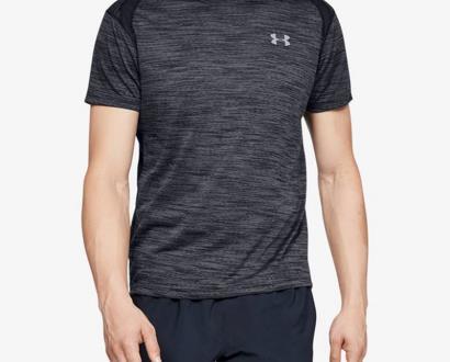 Černě šedé tričko under armour