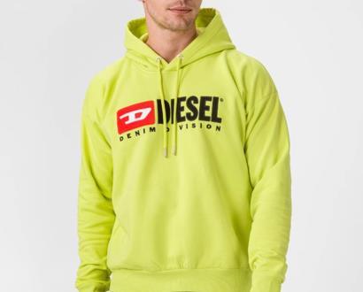 Žlutá mikina Diesel