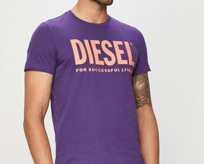 Fialové tričko Diesel