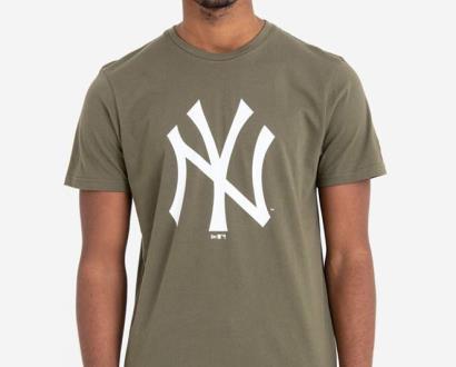 Zelené tričko new era