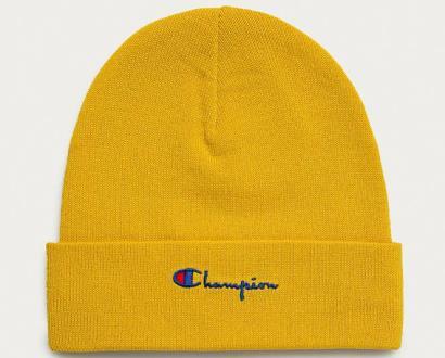 Žlutá čepice champion