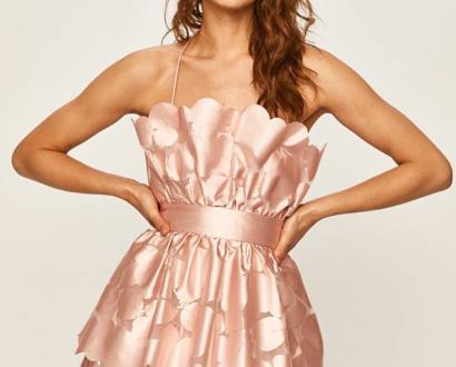 Růžové šaty Pinko