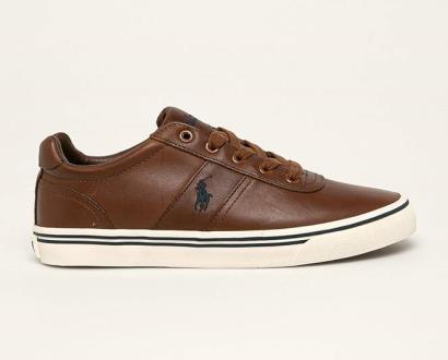 Hnědé boty Polo Ralph Lauren