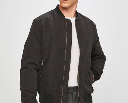Černá bunda PRODUKT by Jack & Jones
