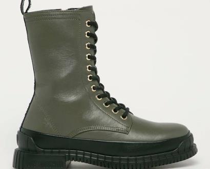 Zelené boty Love Moschino