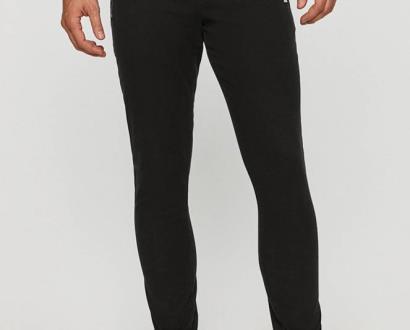 Černé kalhoty Tommy Jeans