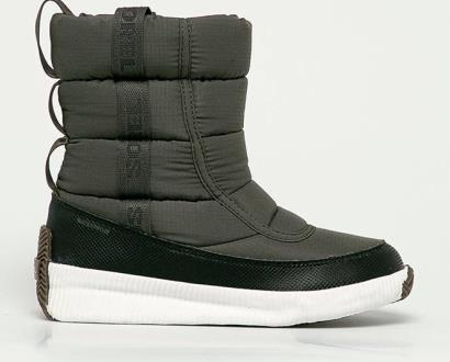 Zelené boty sorel
