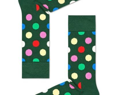 Šedé spodní prádlo happy socks